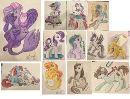 Commissions from EverfreeNW! by iMandarr