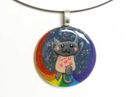 Nyan Cat Pendant 2 by sobeyondthis