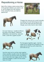 Reposition a horse tutorial by RobynSmaleBeorg