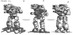 MechWarrior Fail: Hunchback by Mecha-Zone
