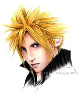 Final Fantasy VII - Cloud by kleinmeli
