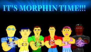 it's morphin time by CaptainBarringer