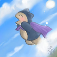 When Snorlaxes Fly? by CrazedPochamaXD