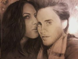 Me And Jared Leto by Gen-Vanilla