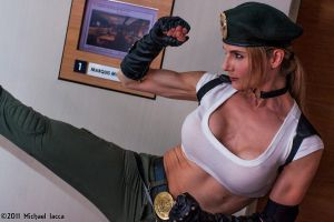 Sonya Blade 5 by Insane-Pencil