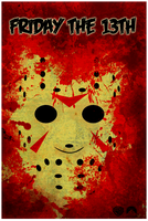 Friday the 13th Poster by Yeti-Labs