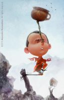 Shaolin monk by creaturedesign