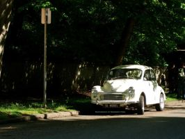 1958 Morris Minor. by GermanCityGirl