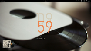 Ubuntu GNOME Remix 12.10 by malisremac