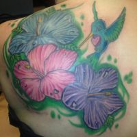 Hibiscus Coverup by xxInkxPrincessxx