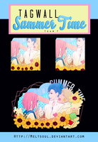 Tagwall - Summer time [team 7] by MeltSoul