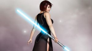 Kira - Saber by 3DXcentric