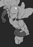 One Punch Man | Sketch by moxie2D