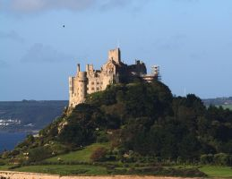 St Michaels Mount 5 - Stock by OghamMoon