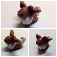 Clay Eevee! by SnowGirl134