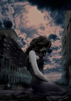 ghost town angel by thesso