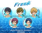 EkaniBadge: Free! by AyumiNazu