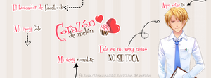 Facebook Cover #9 ~ Amour Sucre - Nathaniel by MichelleMegurine