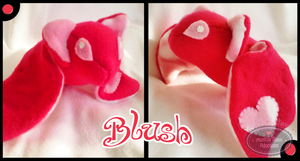Little Litters - Blush - Plush by Sparkle-And-Sunshine