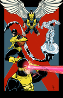 OG X-men colored by RobTorres