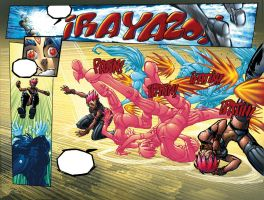Meteorix double spread page 2 by bennyfuentes
