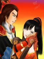 Sun Quan x Lian Shi by InfinityTingTing