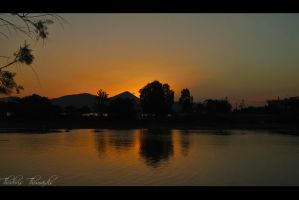 Sunset Reflection by RikOsSora