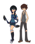 Commission: Serien and Daryl by NayukiMinase