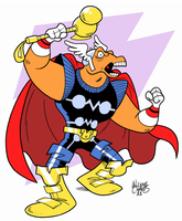 Beta Ray Bill by BezerroBizarro