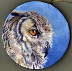 Owl Ornament by glait