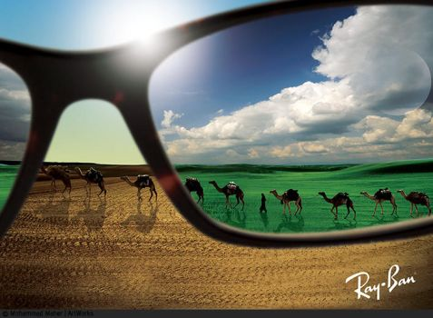 RayBan Print Advertising by m-maher