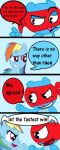 Rainbow dash vs Splendid Page 7 by FeryelDell