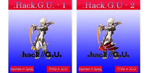 .Hack.G.U - Anime icons by azmi-bugs