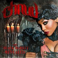 Chaud - The Black Market - CD cover by pezbananadesign