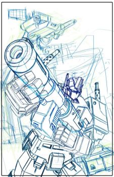 WIP: Optimus Prime b by Bogata