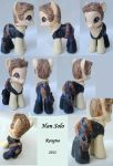 Han Solo pony by Roogna