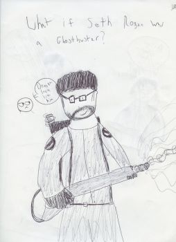 Seth Rogen ghostbuster by machojoey23