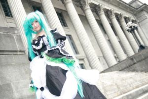 Vocaloid Cantarella - Miku by Xeno-Photography