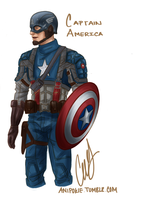 steve rogers by AniPokie