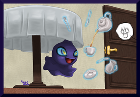 Pokedex Projekt Shuppet by LuckyLucario