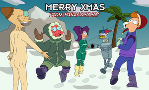 Merry Xmas From Freako by FuturamaFreak1