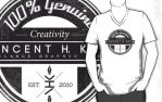Vhk Black Shirt Design by VHCrow