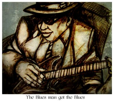 The blues man got the blues by amoxes