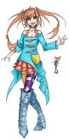 Pippi Longstocking by Agacross
