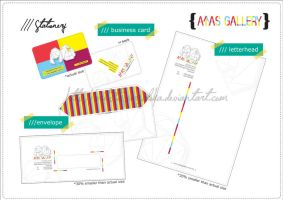atas gallery stationery by artistiksyurgaloka