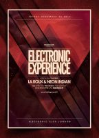 Electro Poster Template Vol. 5 by IndieGround