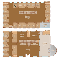 PoP: Inn Floor Plans by arcanium