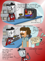 Ricky The Blender Working Hard Or Hardly Working by 10SHADOW-GIRL10