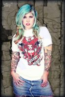 Tattood Lifestyle Tshirt by Miss-MischiefX