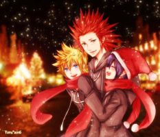 KH: Christmas by yoruven